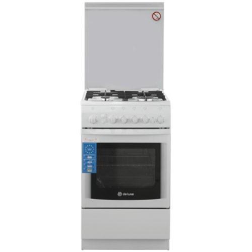 Газовая плита De Luxe 506040.11г(кр)ЧР
